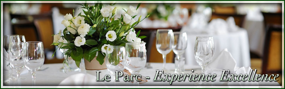 Le Parc dining room